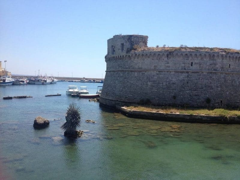 Angevine-Aragonese Castle in Gallipoli