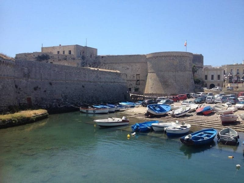 The Angevine-Aragonese Castle in Gallipoli