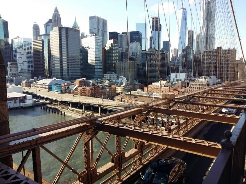 Views from Brooklyn Bridge