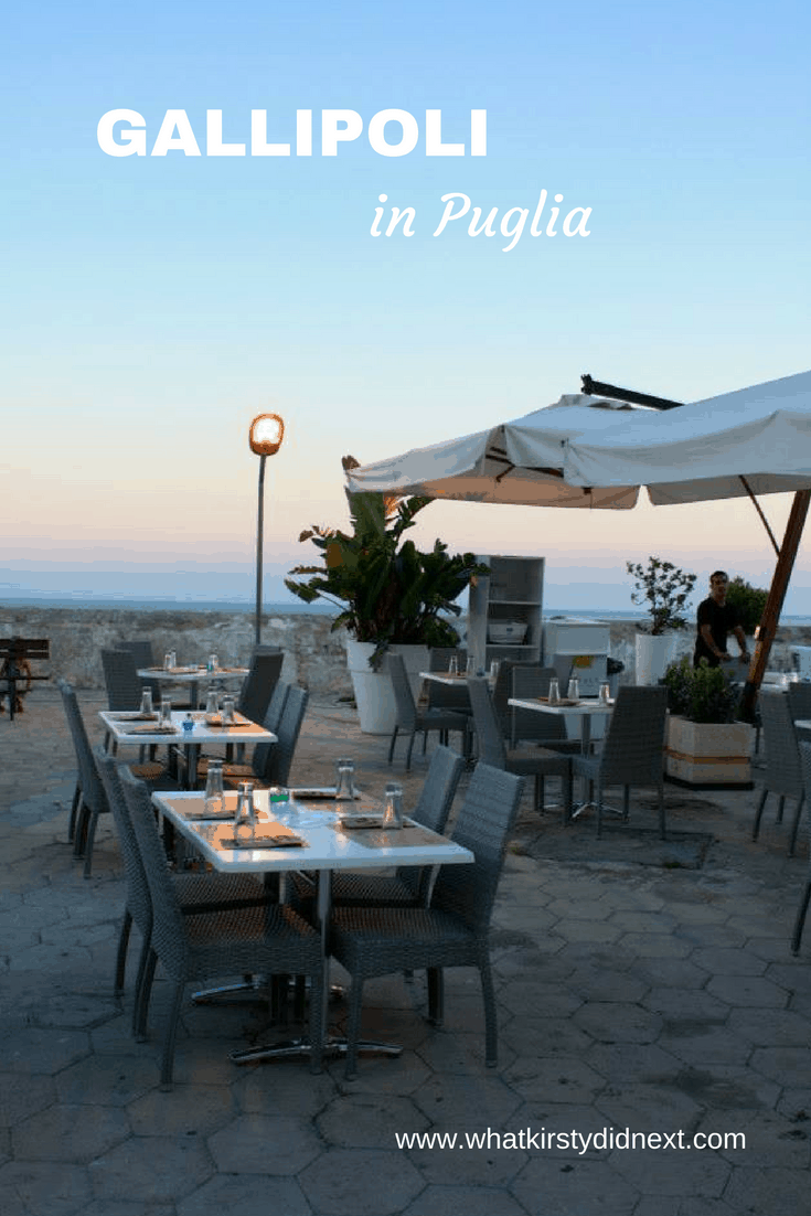 Where to stay, eat and what to do in Gallipoli, Puglia