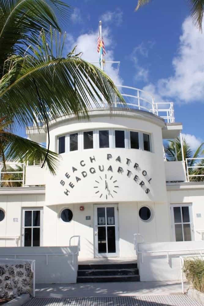 Beach Patrol HQ Miami South Beach