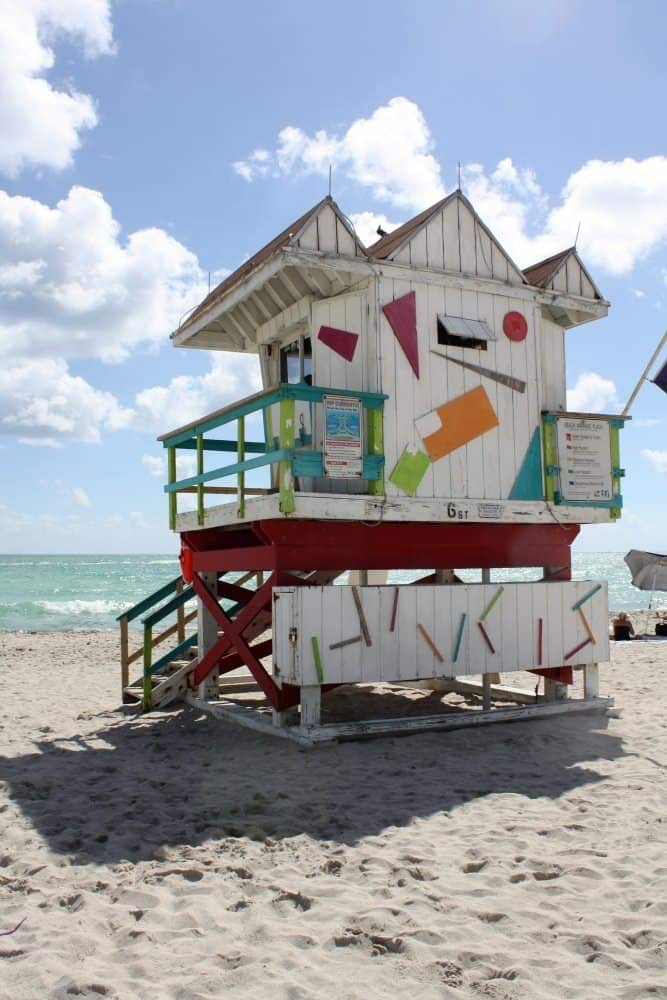 Miami lifeguard tower