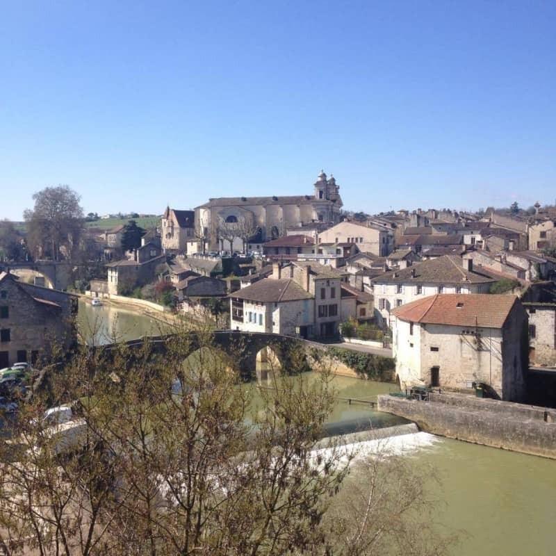 Nerac in France