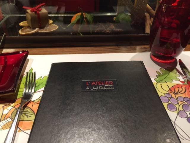 Lunch at L'Atelier de Joël Robuchon