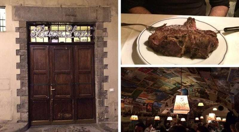 Buca Lapi restaurant since 1860