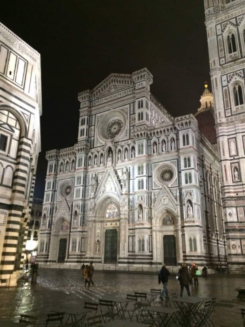 The Duomo at night
