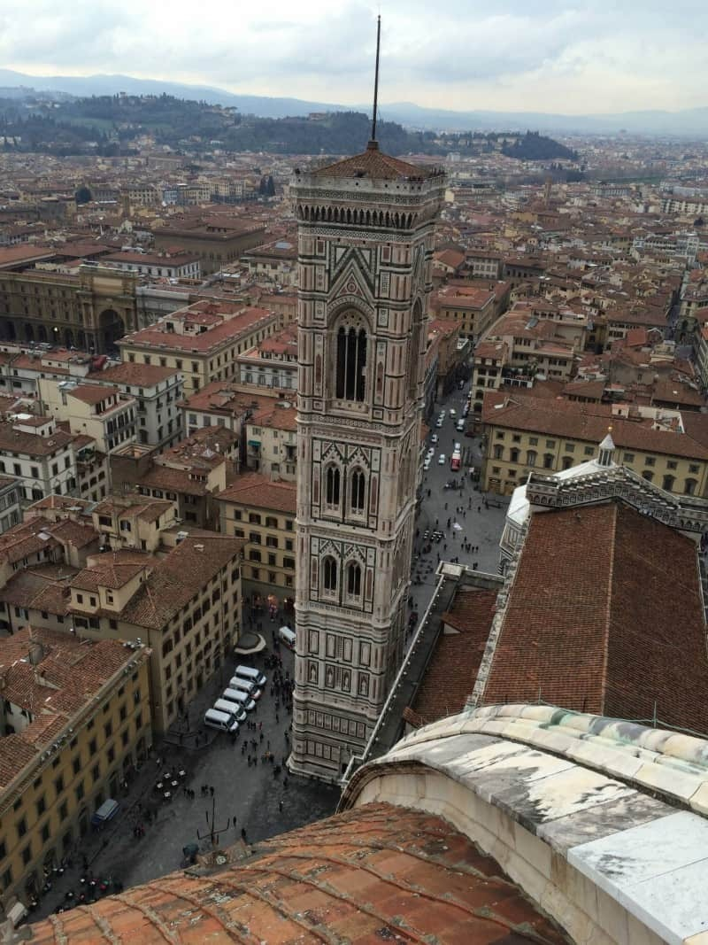 The views from the top of the Duomo