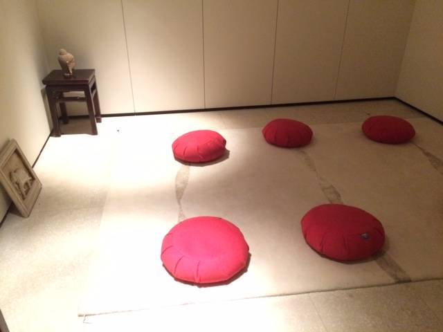 meditation room at Akasha