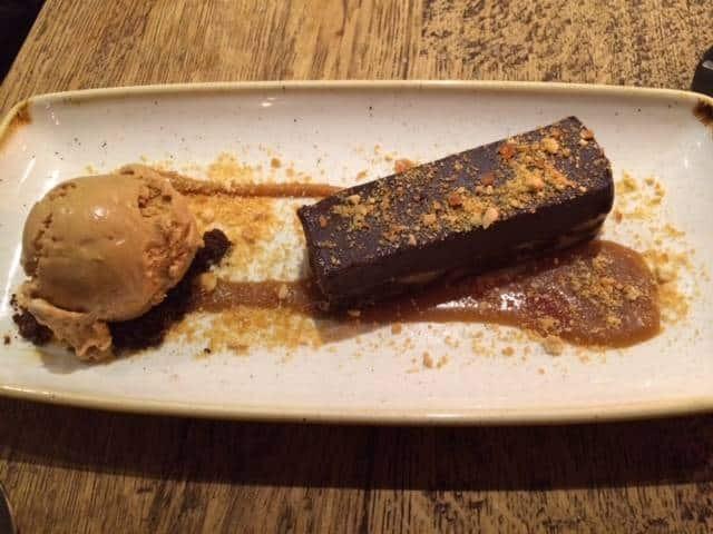 Dessert at The Grey Horse
