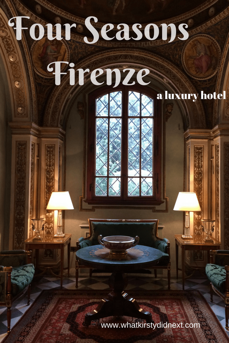 The Four Seasons Firenze in Florence, Italy