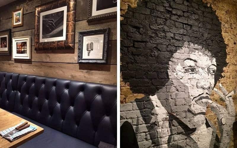 The Grey Horse decor