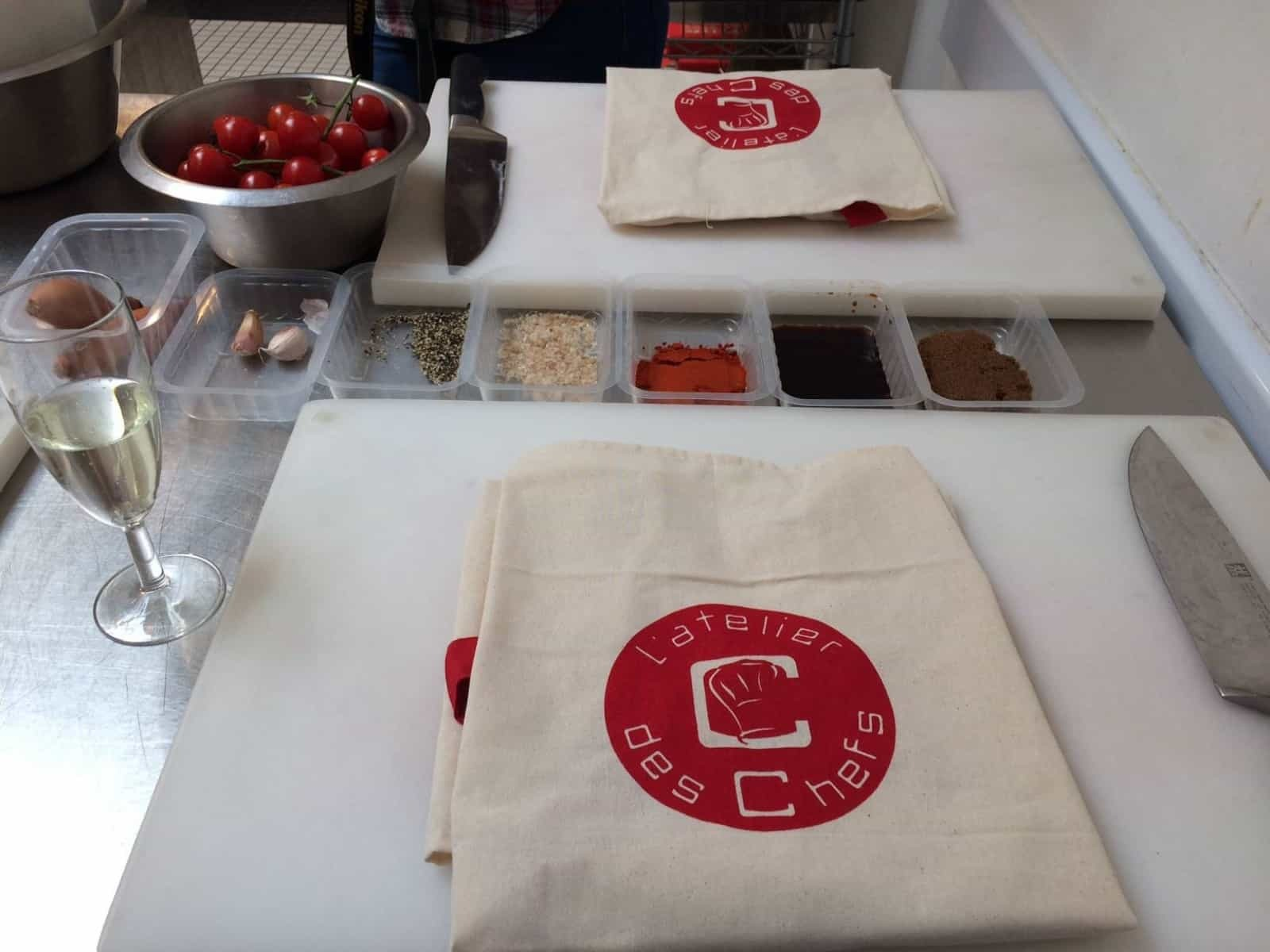 Lunchtime cooking class from L'atelier des Chefs and Tefal