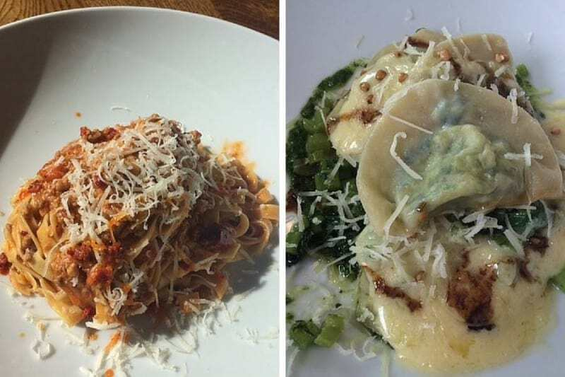 Mains at Osteria
