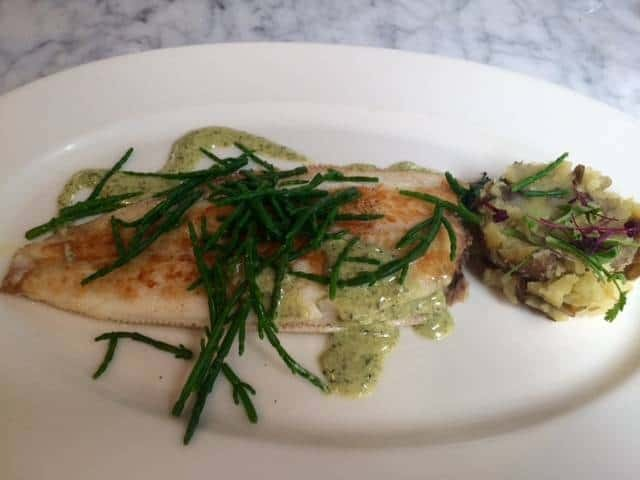 Lemon sole from The Summerhouse