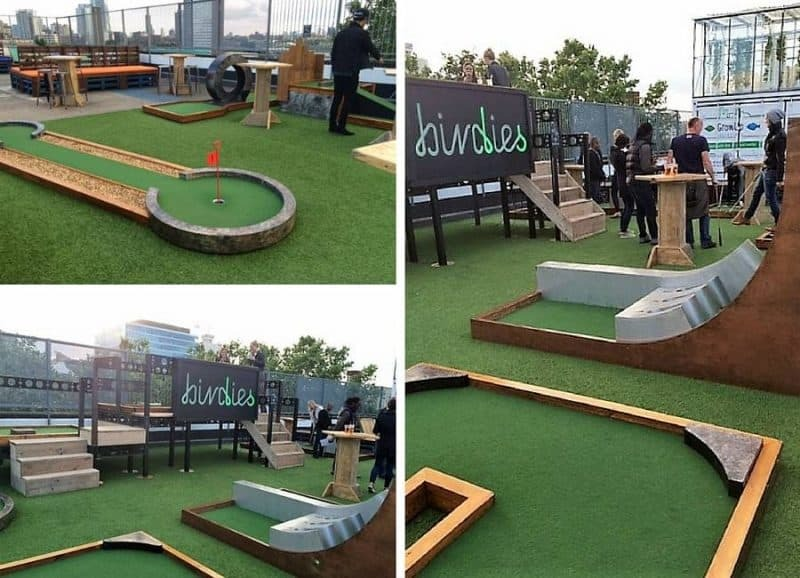 Birdies Golf at Rooftop East