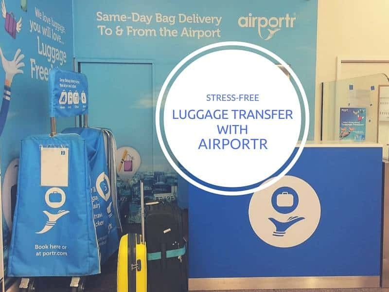 Airportr luggage service