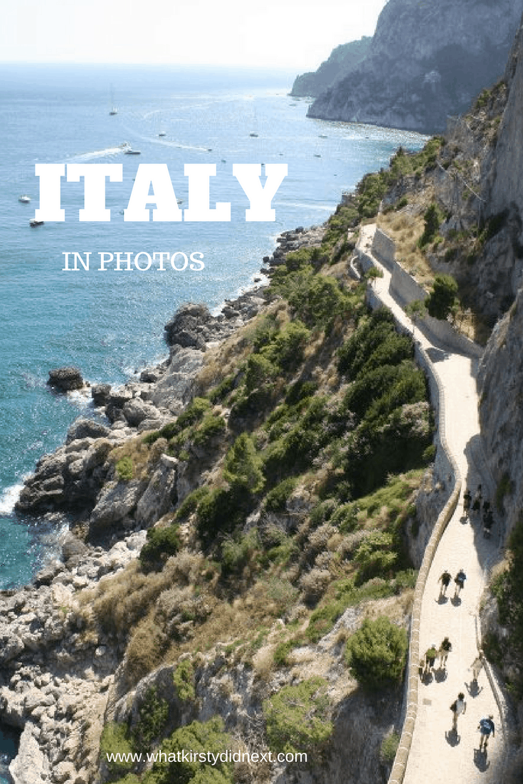 A photographic journey through Italy