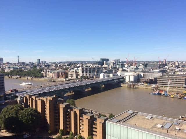 London views from Tate Modern