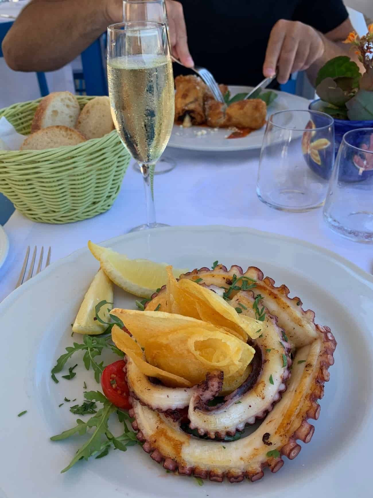 Lunch at Lo Smeraldo