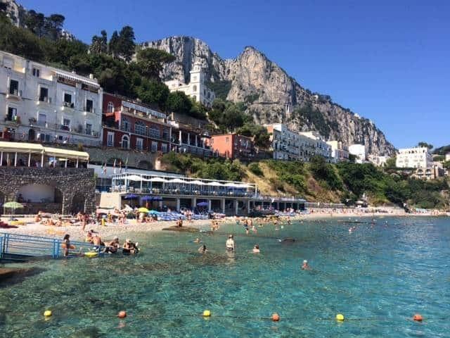 Marina Grande in Capri