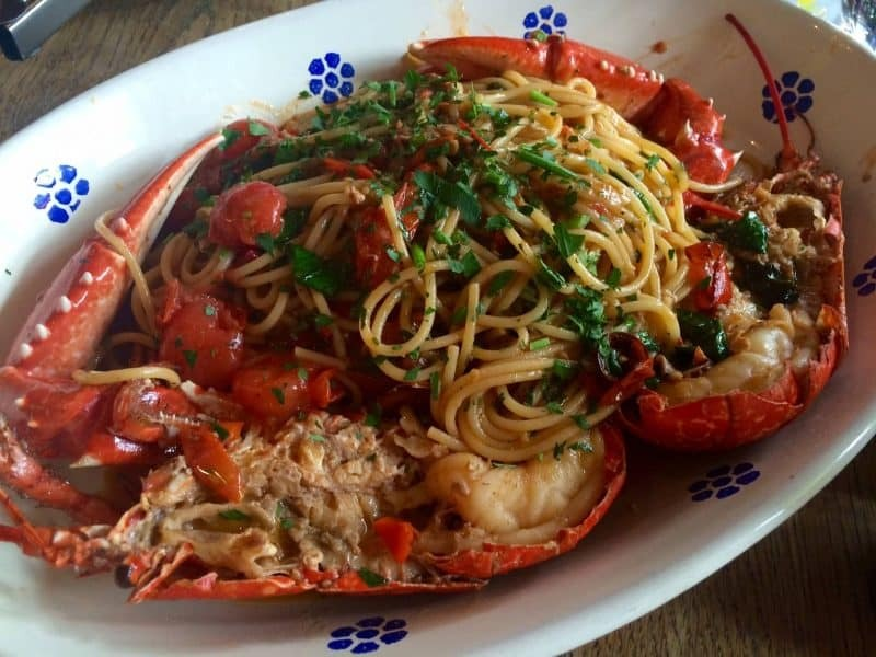 Spaghetti with Aragosta