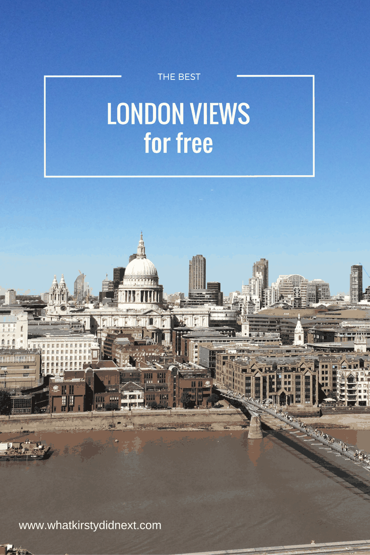 The best London views for free