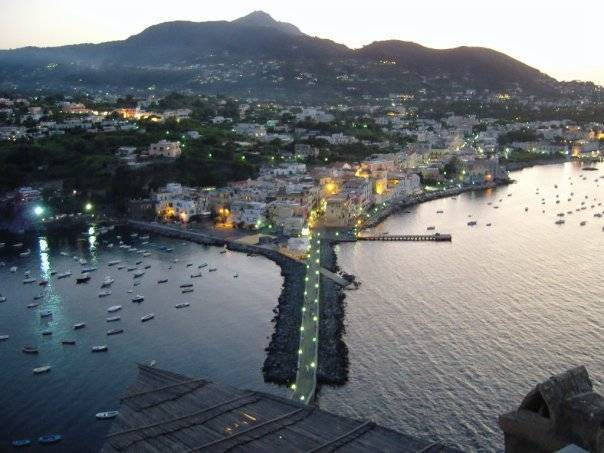 View from Il Monastero in Ischia