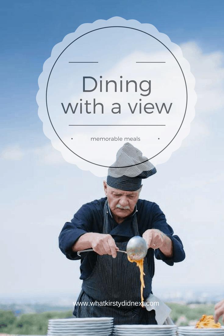 Memorable meals