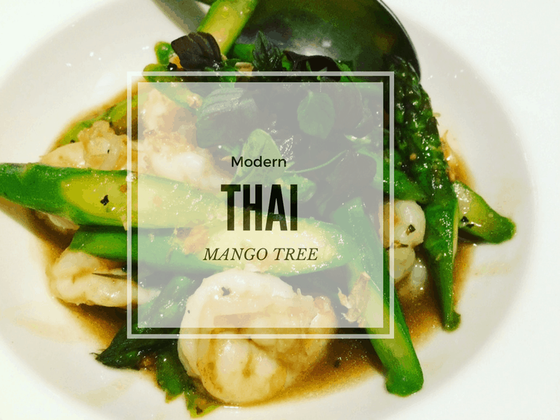 Modern Thai at Mango Tree