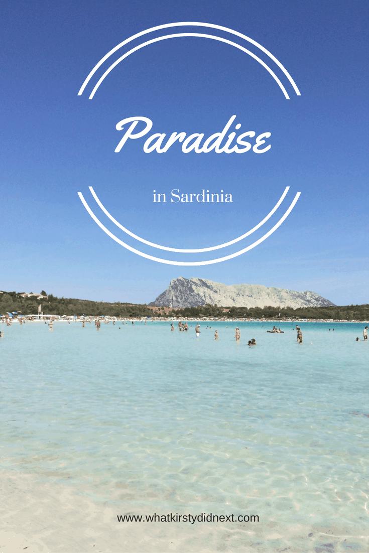 Olbia is a beach paradise in Sardinia