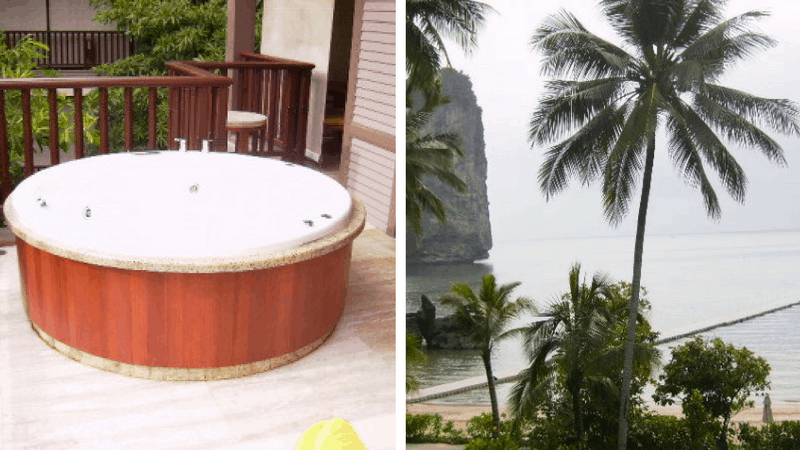 Hot tub in Krabi