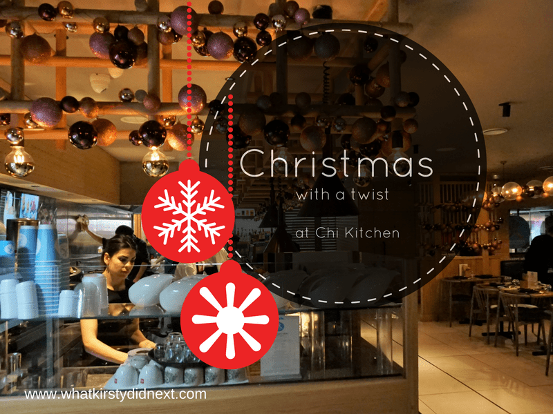 Christmas with a twist at Chi Kitchen