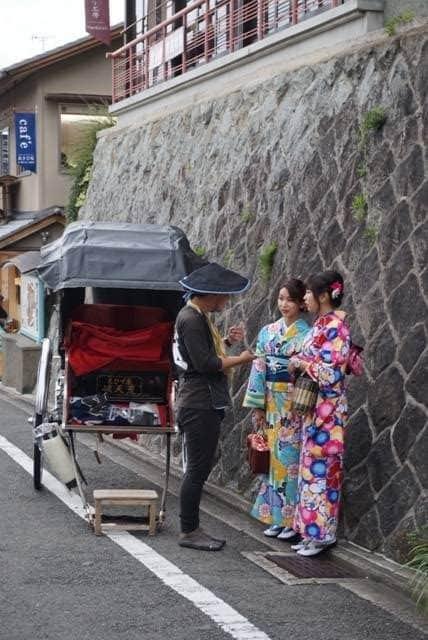 Rickshaw in Kyoto