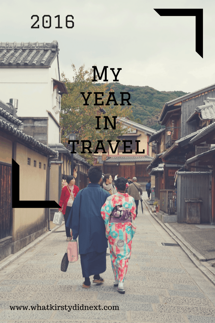 My year in travel in 2016
