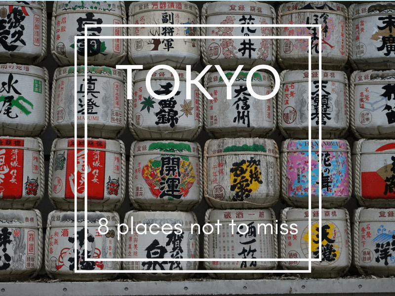 8 places to see in Tokyo
