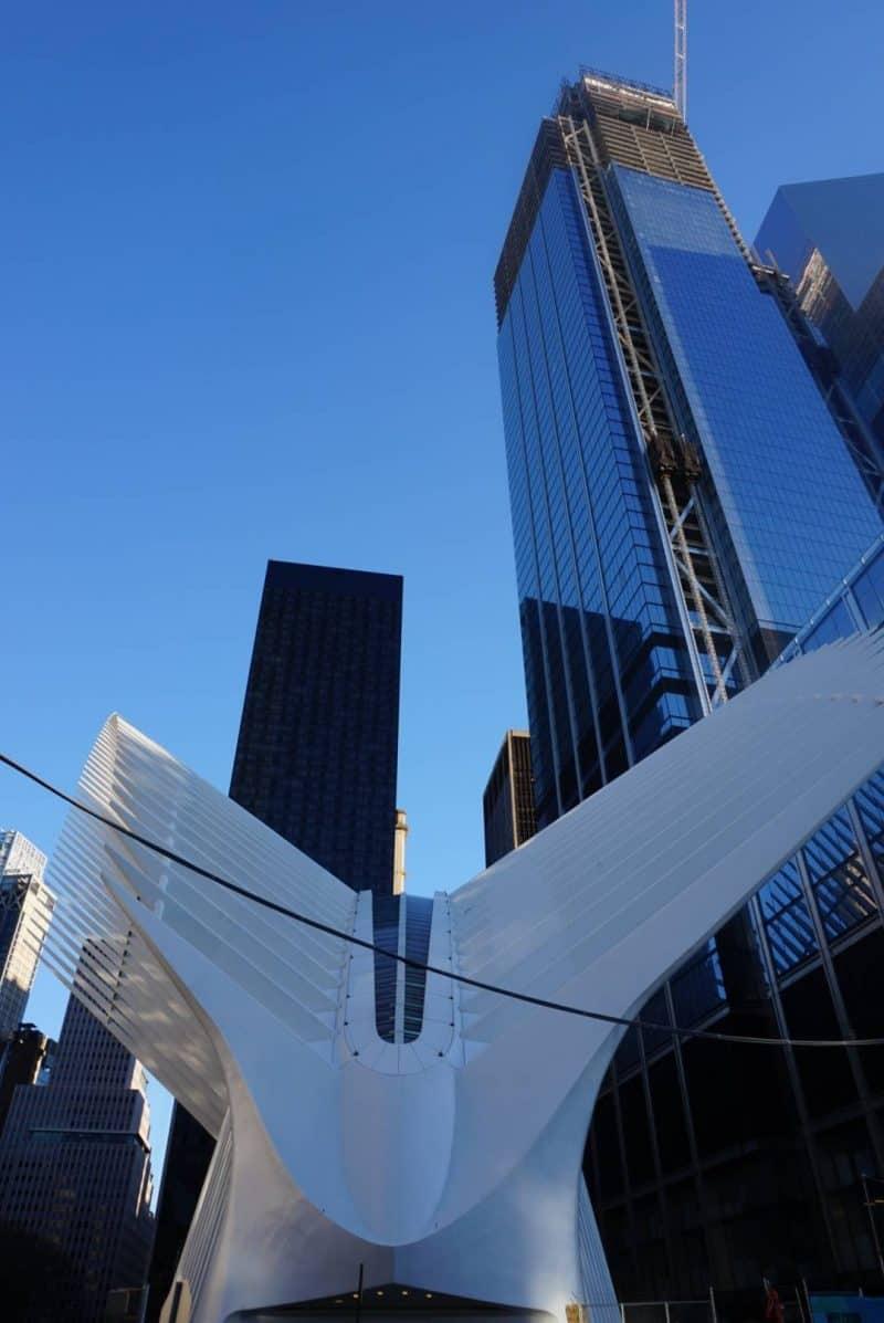 9/11 Memorial park in New York