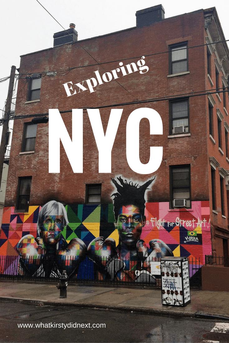 Exploring New York at New Year