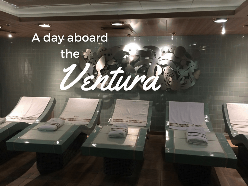 A day aboard the Ventura cruise liner