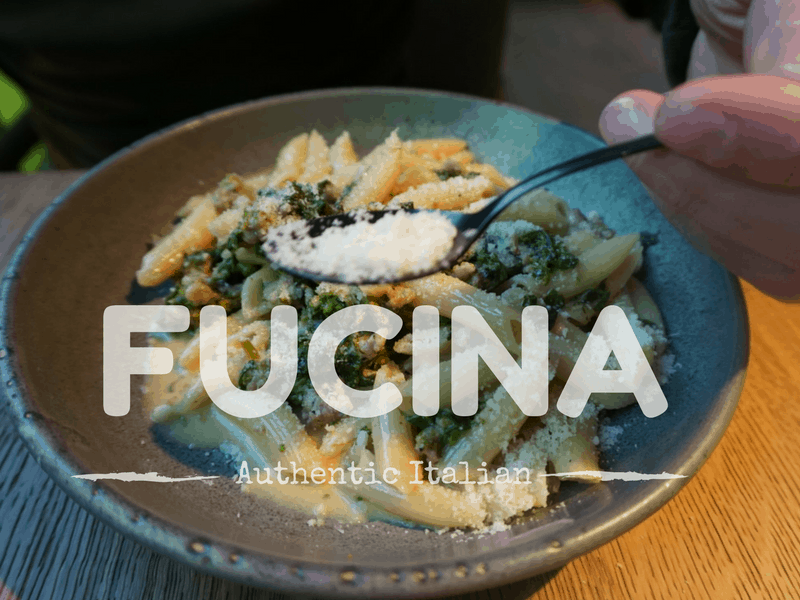 Fucina Italian restaurant in London