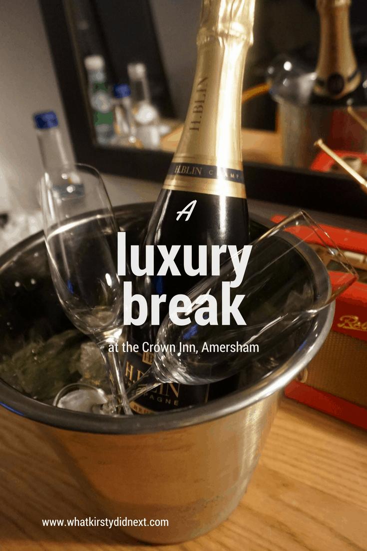 A luxury weekend break at the Crown Inn