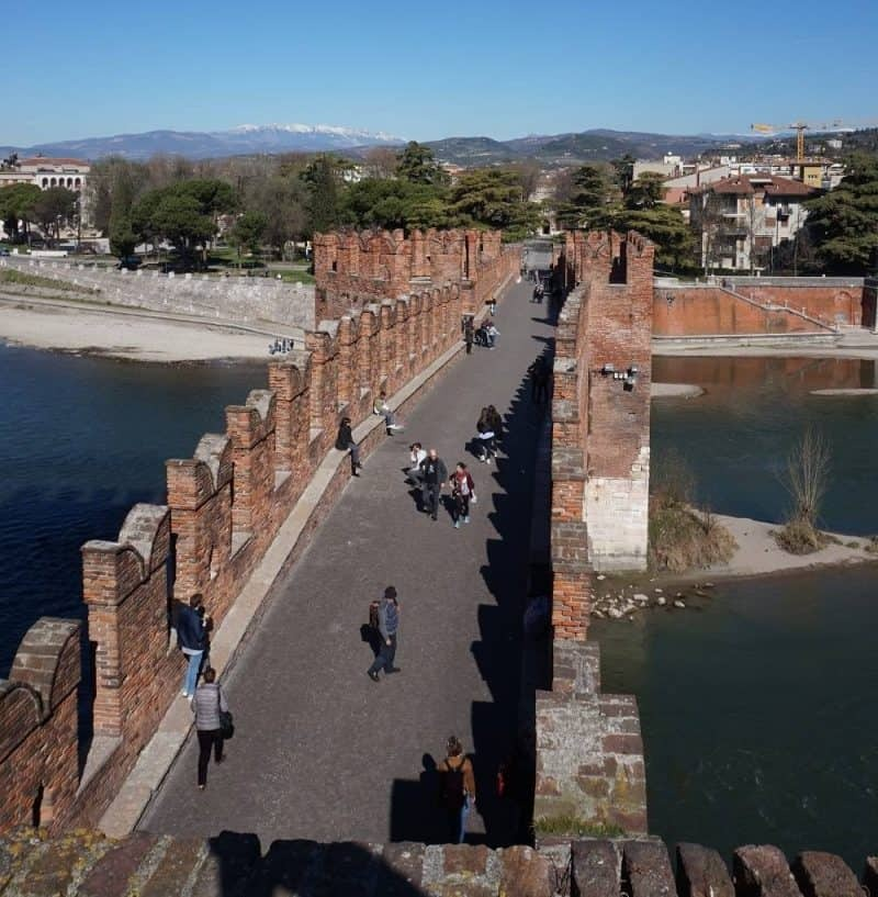 Castelvecchio Bridge Verona