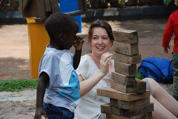 Lucy Buck, CEO of Child's i Foundation