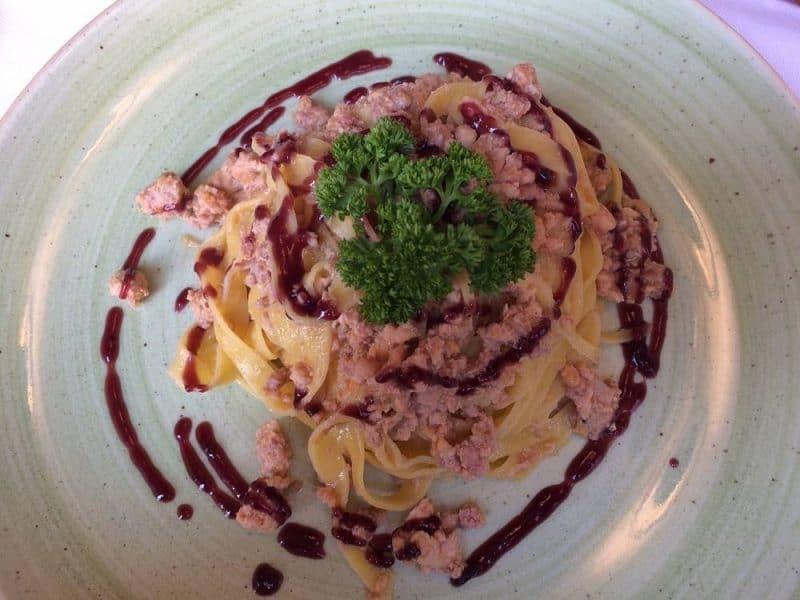 Pasta from Alcova del frate in Verona