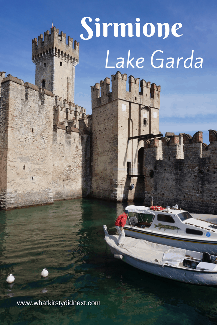 Sirmione in Lake Garda