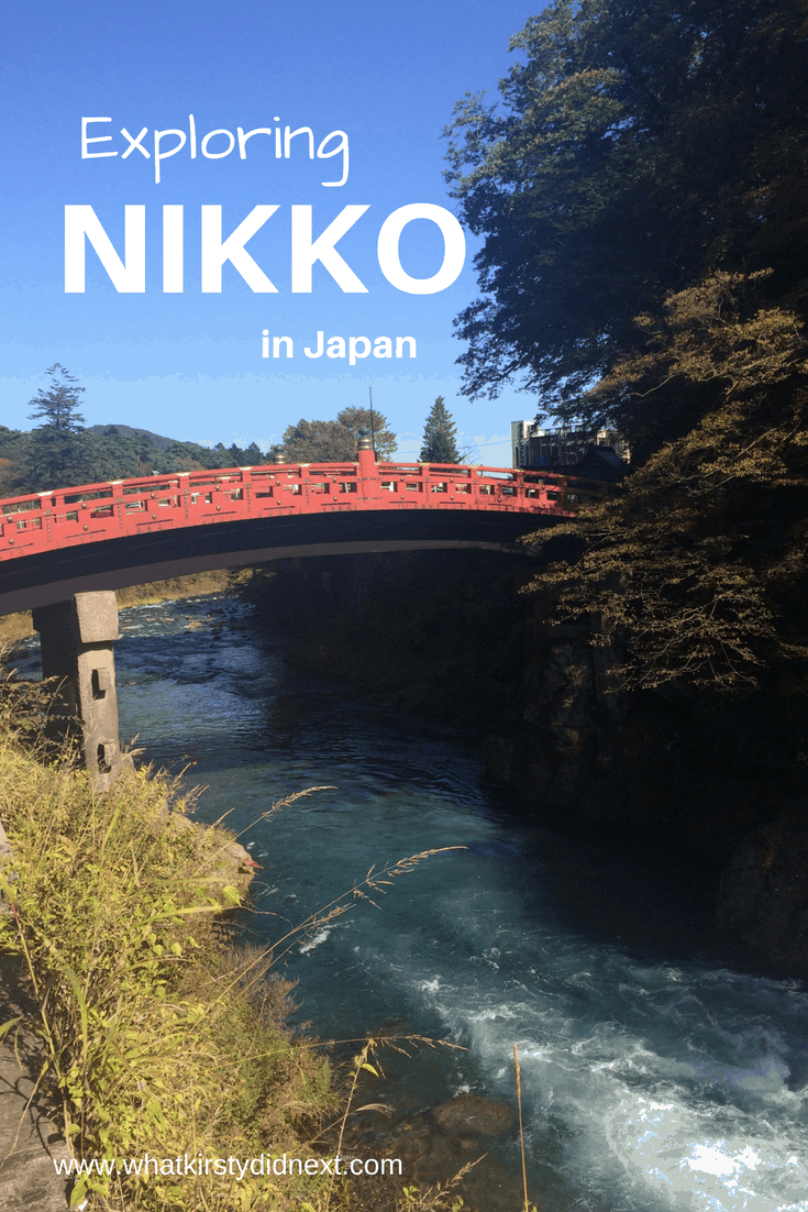 A day trip from Tokyo to Nikko