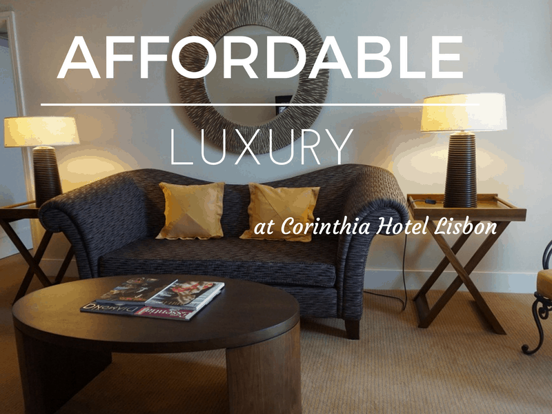 Affordable luxury at Corinthia Hotel Lisbon