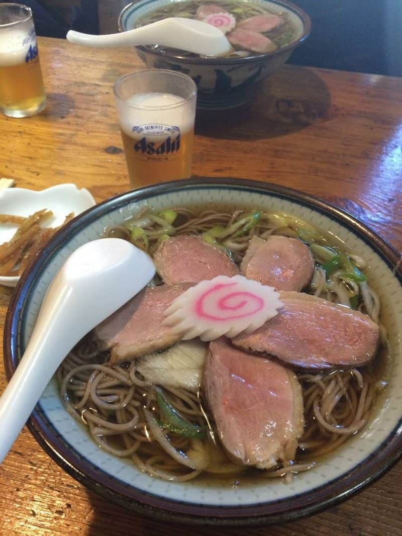 Duck ramen from Nikko