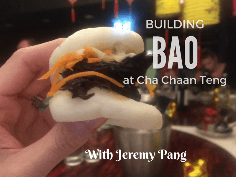 Making my own bao with chef Jeremy Pang