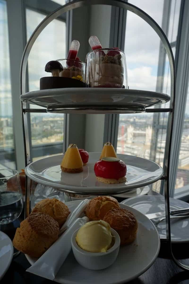 Aqua Shard Afternoon Tea
