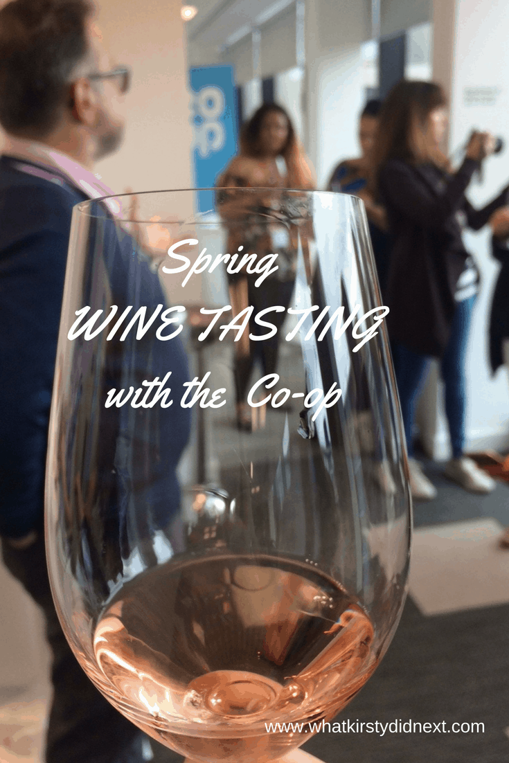 Spring wine tasting with the Co-op